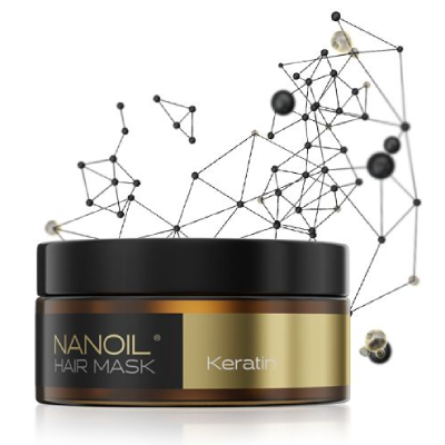 den bedste hårmaske Nanoil Keratin Hair Mask