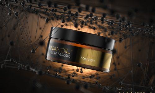 Nanoil den bedste hårmaske med keratin